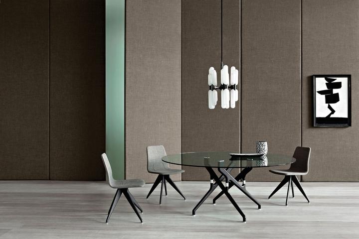 Potocco Torso Tisch Stühle Firma Design-Magazin