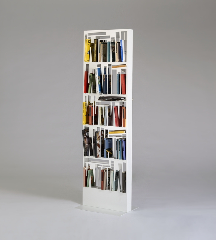 Bookshape metal BIG with books