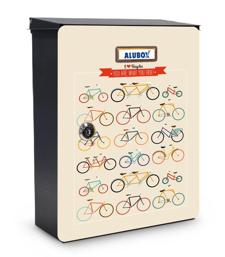 Biciclette cassetta postale design miabox by mia