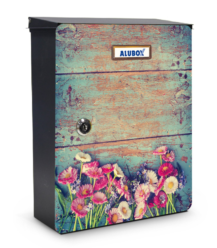 Fiori cassetta postale design miabox by mia