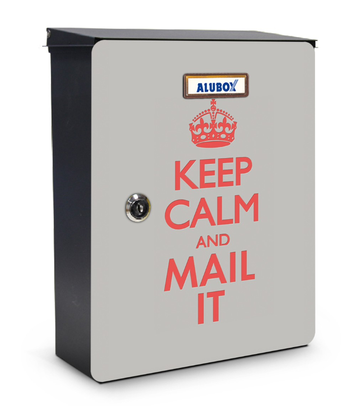 Keep Calm mailbox design miabox by my