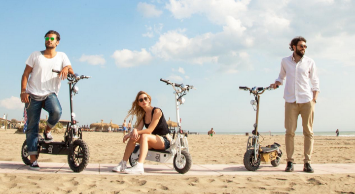 Beky Electric Motor Scooters