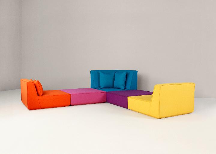 コーナーソファ - 贅沢な設計