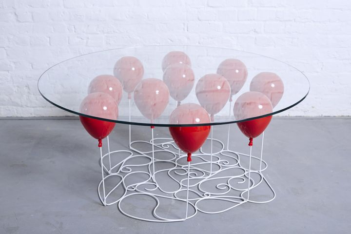 duffy london up balloon round coffee table edition 03