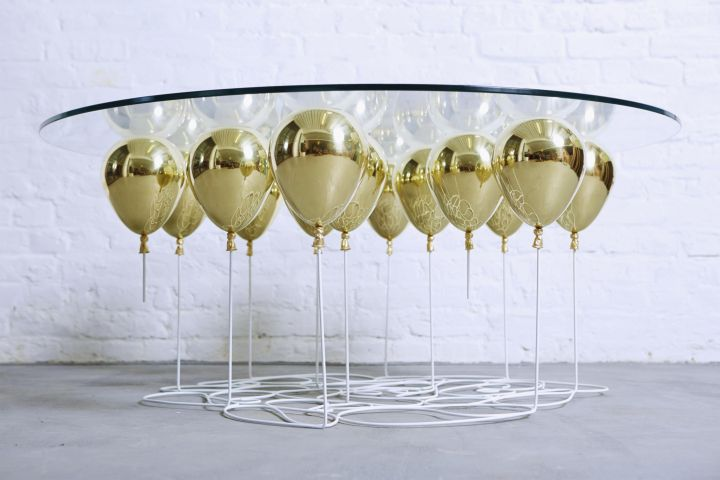duffy london up balloon round coffee table edition 10