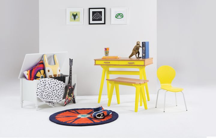Mini Cochecito de escritorio de roble estilo de vida