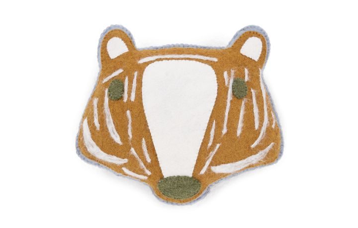 Pipkin Badger Felt Cushion PR