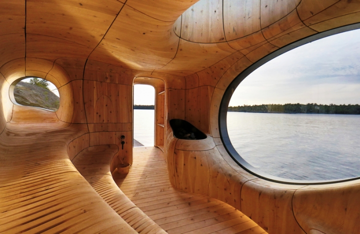 Partisanen Grotte Sauna Toronto Kanada 01