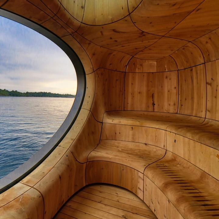 partisans gruta sauna Toronto, Canadá 05