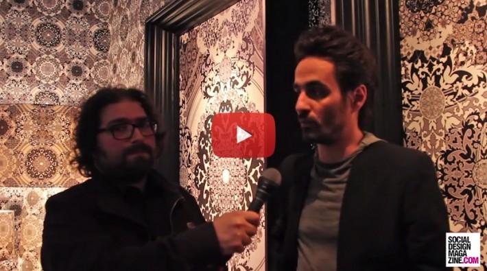 Gabriele Chiave art director dello studio Macel Wanders Fuorisalone 2015 SDM Interview