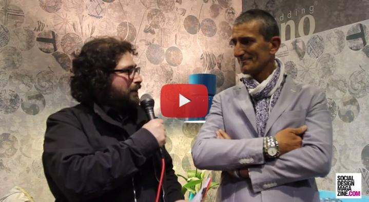 gestionnaire Roberto Nobili de Milano Bedding Furniture Fair 2015 SDM Interview