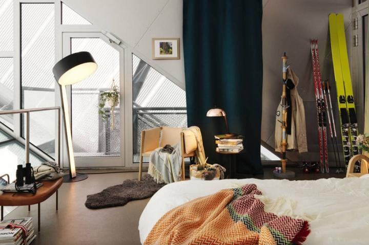 airbnb JDS de esquí de Holmenkollen 05 salto ático