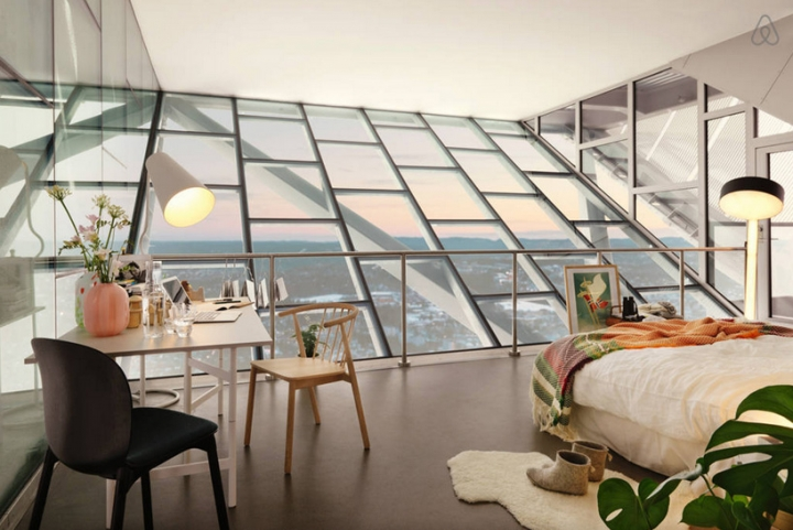 airbnb JDS de esquí de Holmenkollen 08 salto ático