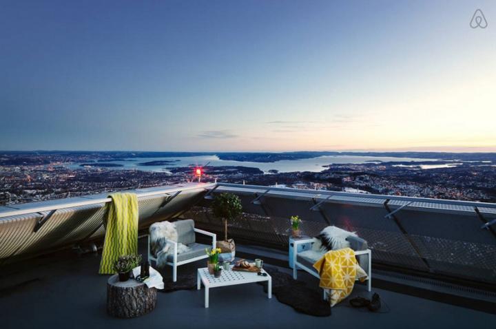 airbnb JDS de esquí de Holmenkollen 09 salto ático