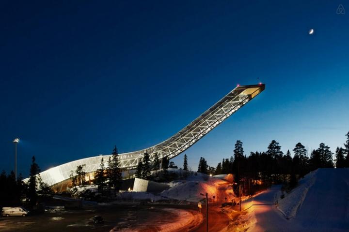 airbnb JDS de esquí de Holmenkollen 11 salto ático