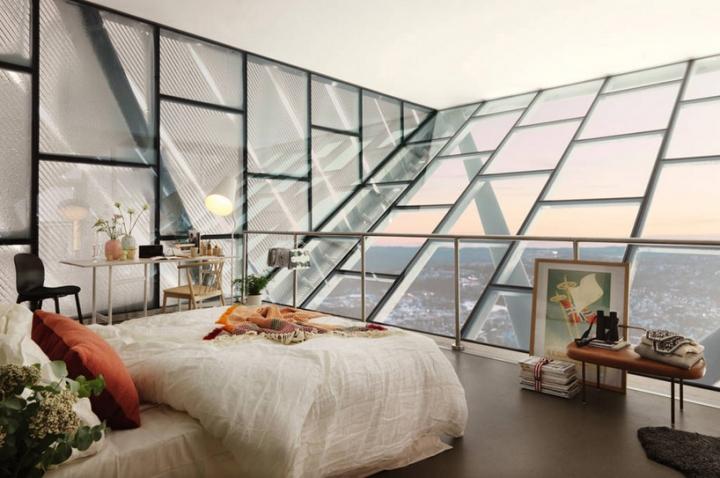airbnb JDS holmenkollen ski jump penthouse 20