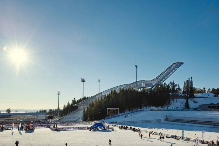 airbnb JDS de esquí de Holmenkollen 1 salto ático