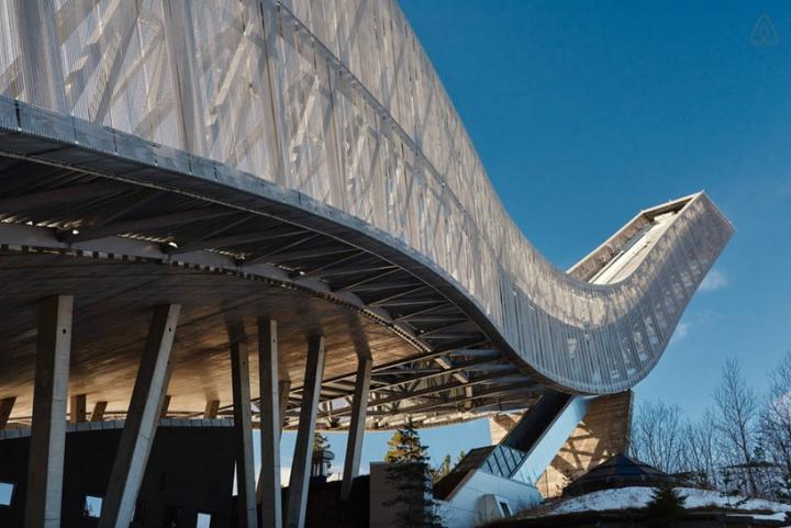 airbnb JDS de esquí de Holmenkollen 2 salto ático
