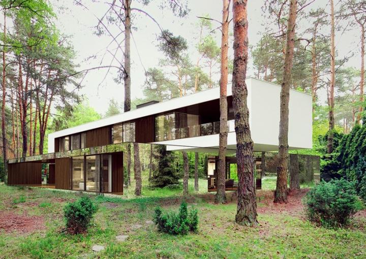 Reforma architekt Marcin Tomaszewski refelctive espelho casa Izabelin 2 03