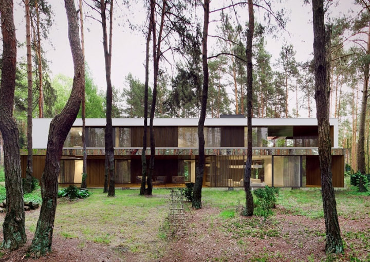 reform architekt marcin tomaszewski refelctive mirror izabelin house 2 08