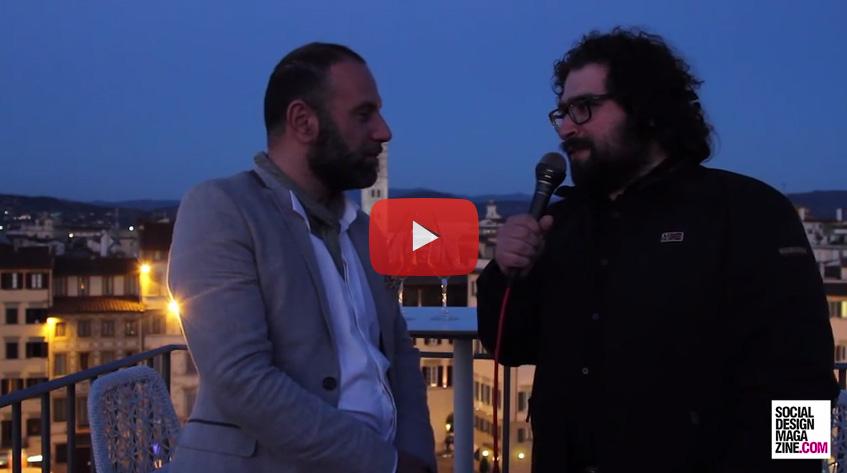 Alessandro Pumpo Φλωρεντία Σχεδιασμός εβδομάδα 2015 SDM Συνέντευξη
