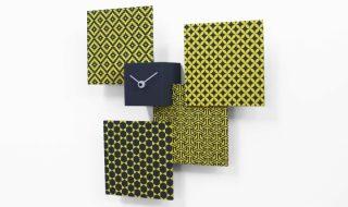 Pattern grigio giallo tre quarti low