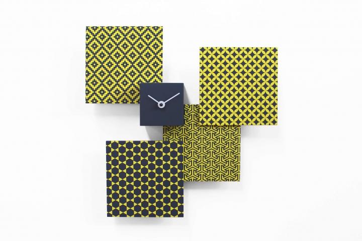 Pattern grigio giallofrontale low