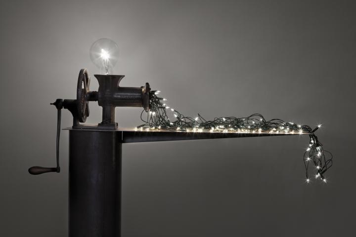 CS Macchina che produce le lampadine piccole