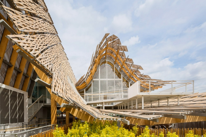 china expo pavilion milan 2015 Tsinghua University study links arc X2