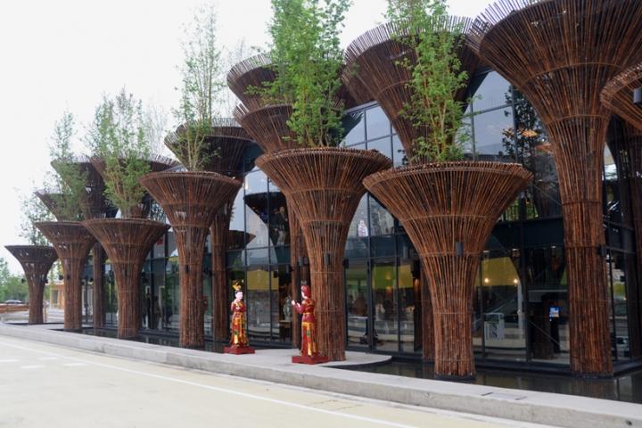 Milan Ekspozisyon Pavilion Vyetnam trong Nghia vo 2015 01