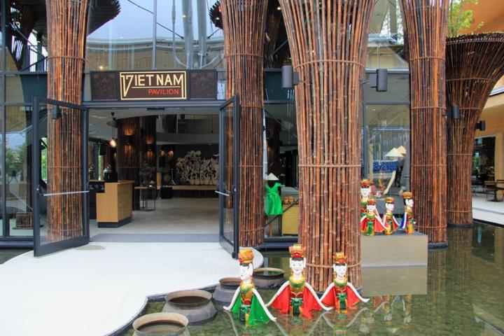 Milan Ekspozisyon Pavilion Vyetnam trong Nghia vo 2015 06
