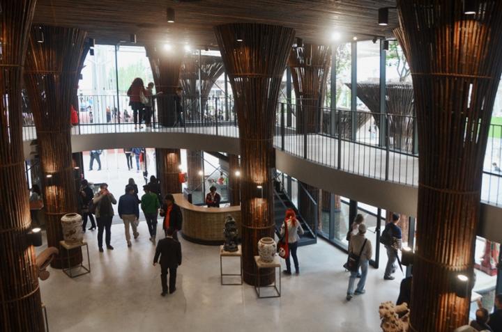 Milan Ekspozisyon Pavilion Vyetnam trong Nghia vo 2015 08