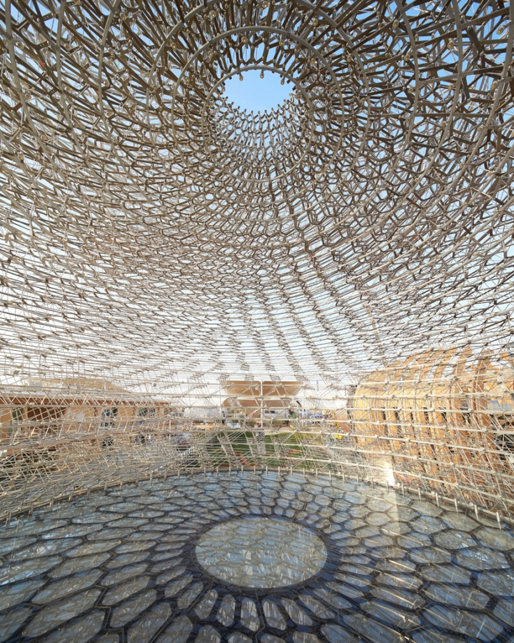 UK pavilion expo milan 2015 wolfgang buttress 2