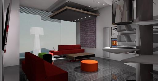 Arredamento Monolocale Design Ivan Saccomani 14