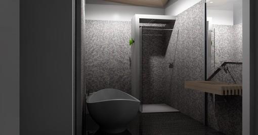 Arredamento Monolocale Design Ivan Saccomani 9