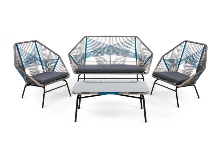 Copa Lounge Set Cool Blue social design magazine