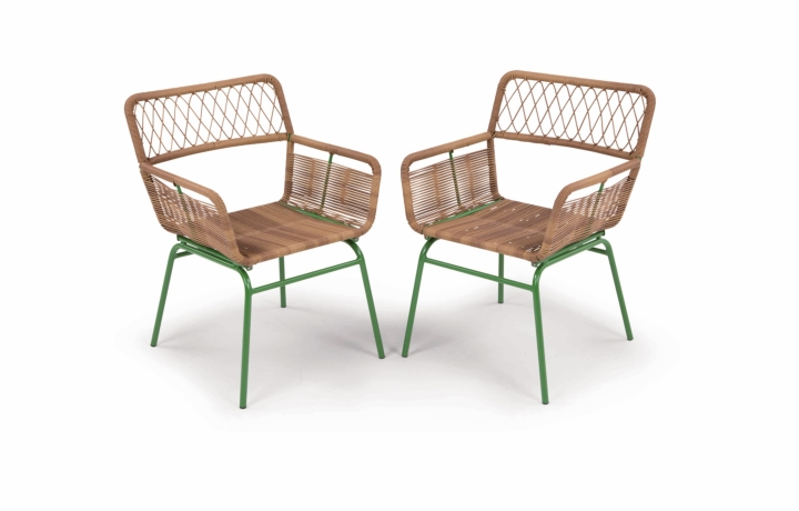 Lyra Dining Chair Green social design magazine