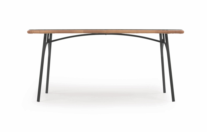 Lyra Rectangular Table Grey social design magazine