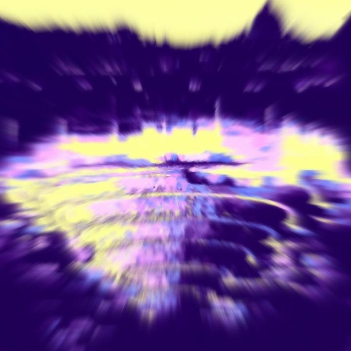Aidan Octava ronda medios mixtos en realidad aumentada sobre lienzo 40X40 2015