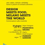 locandina pack design meet food gifasp ARCLINEA