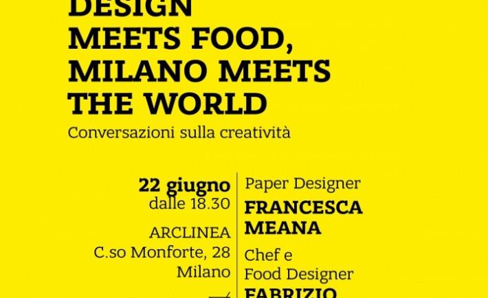 locandina pack design meet food gifasp ARCLINEA