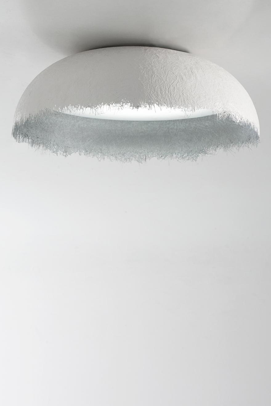 Egida ceiling, white silver