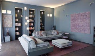 Atelier Durini 15 interior design Andrea Castrignano, illuminazione Buzzi & Buzzi