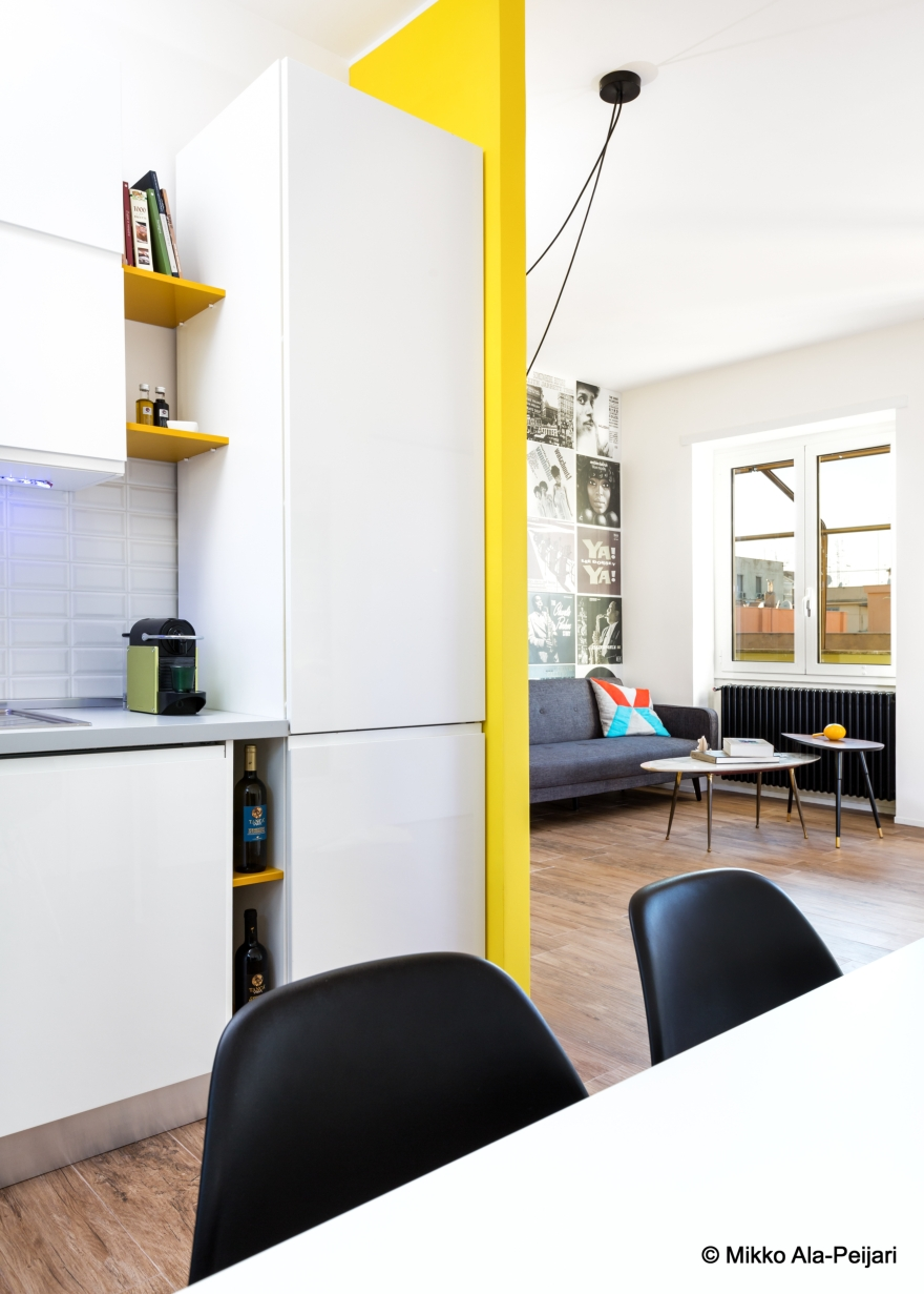 rosary house, apartment in the heart of Rome, Maurizio Giovannoni