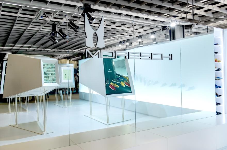 Spazio espositivo Moreschi, Pitti Immgine Uomo 2015, progetto Migliore + Servetto Architects