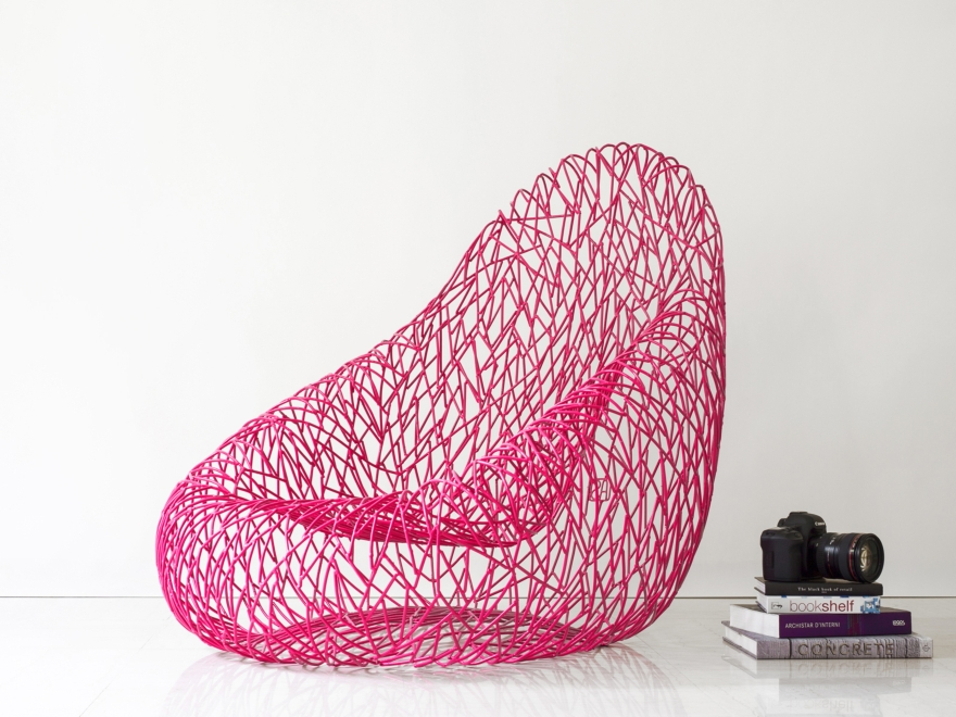 Theinteriodesign.it Poltrona Uovo Sdraiato by Anacleto Spazzapan credits ph Andrea Vailetti