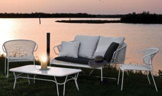 Potocco collezione outdoor Vela, in cordino nautico