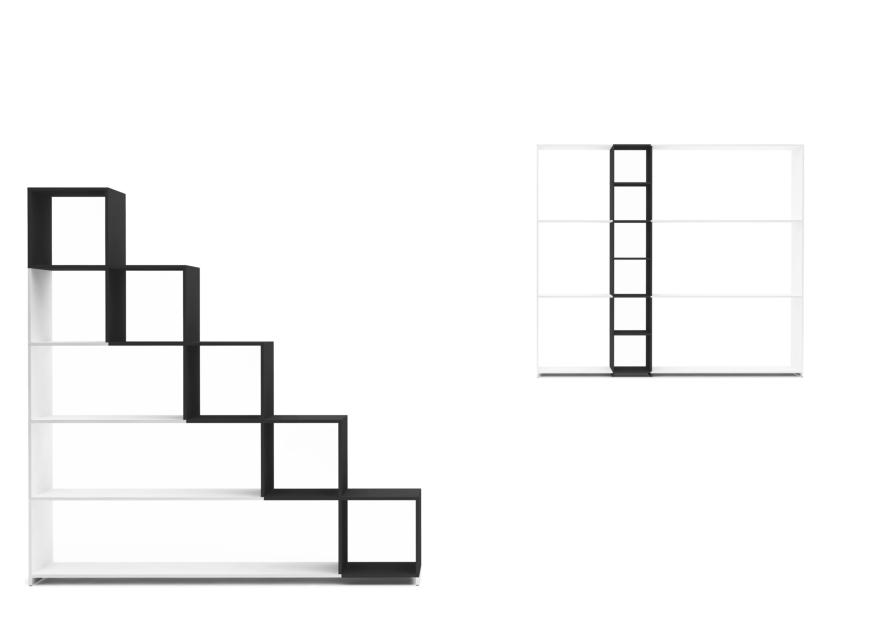 Sistema SEGNO di (a+b) dominoni, quaquaro, Baleri Italia by Hub Design