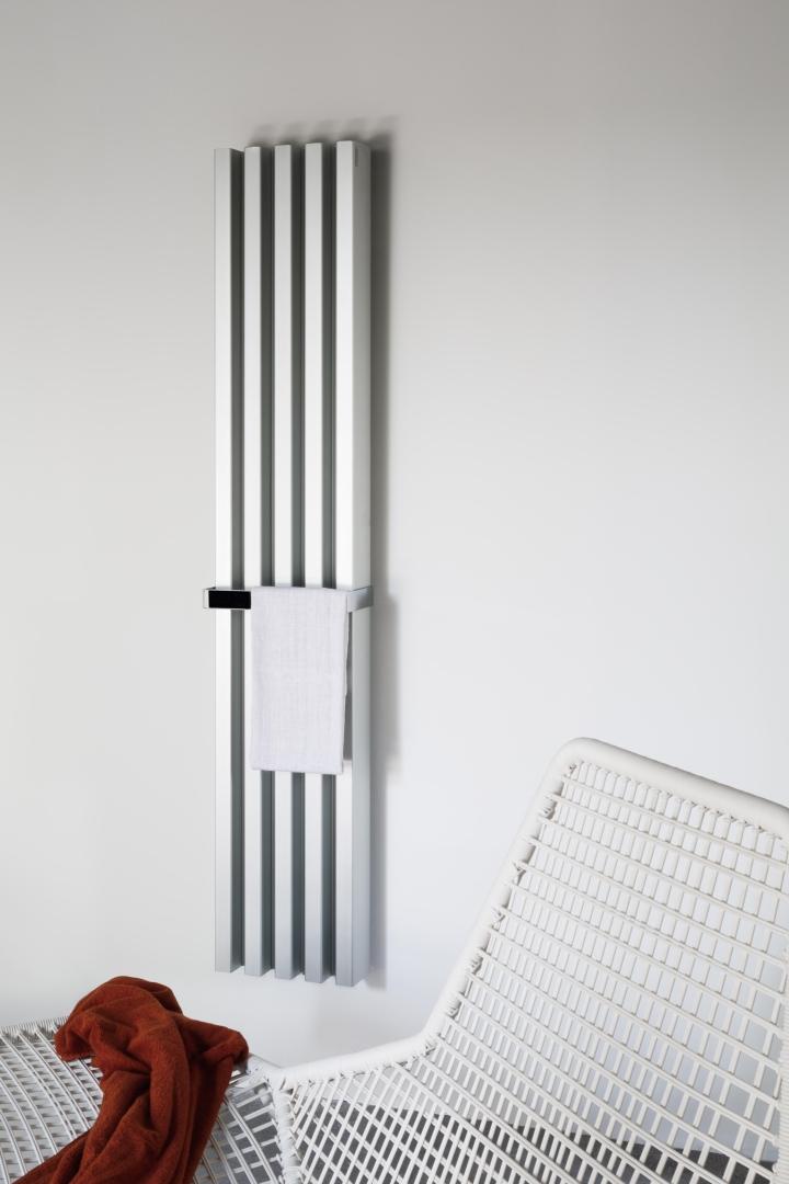 Tubes catalogo 57 Soho bathroom anodizzato argento social design magazine