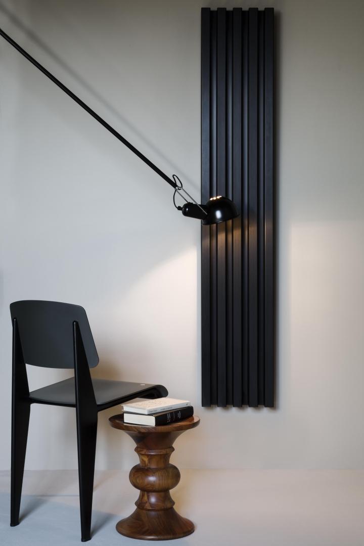 Σωλήνες κατάλογο 62 Soho μπάνιο μαύρο ανοδιωμένο περιοδικό social design